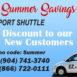 E Z Airport Shuttle Shuttles 14451 Whirlwind Ave Northside Jacksonville Fl Phone Number Yelp