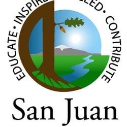 San Juan Unified School District Middle Schools High Schools