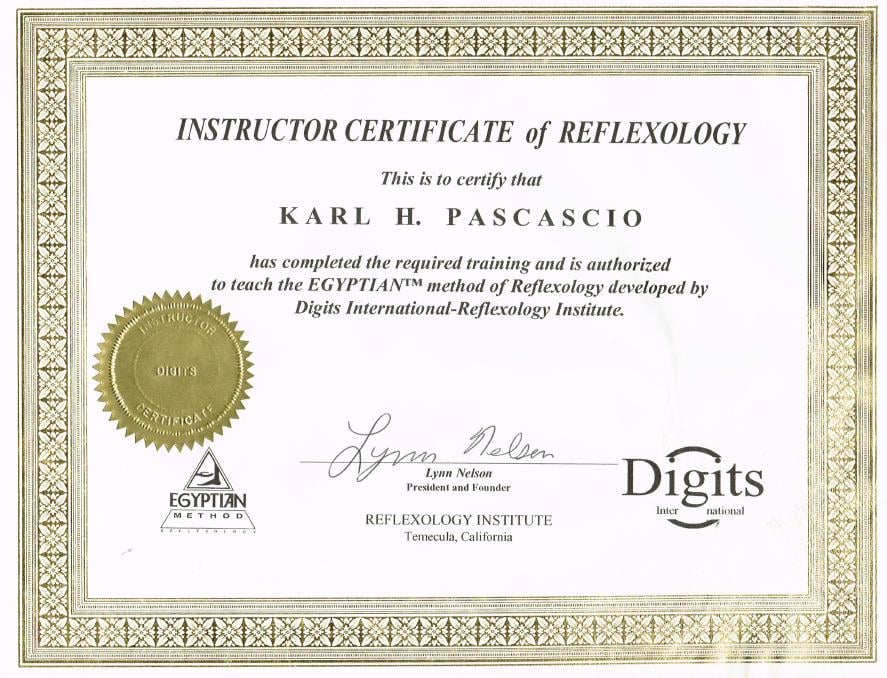 Karls Reflexology Certification Yelp