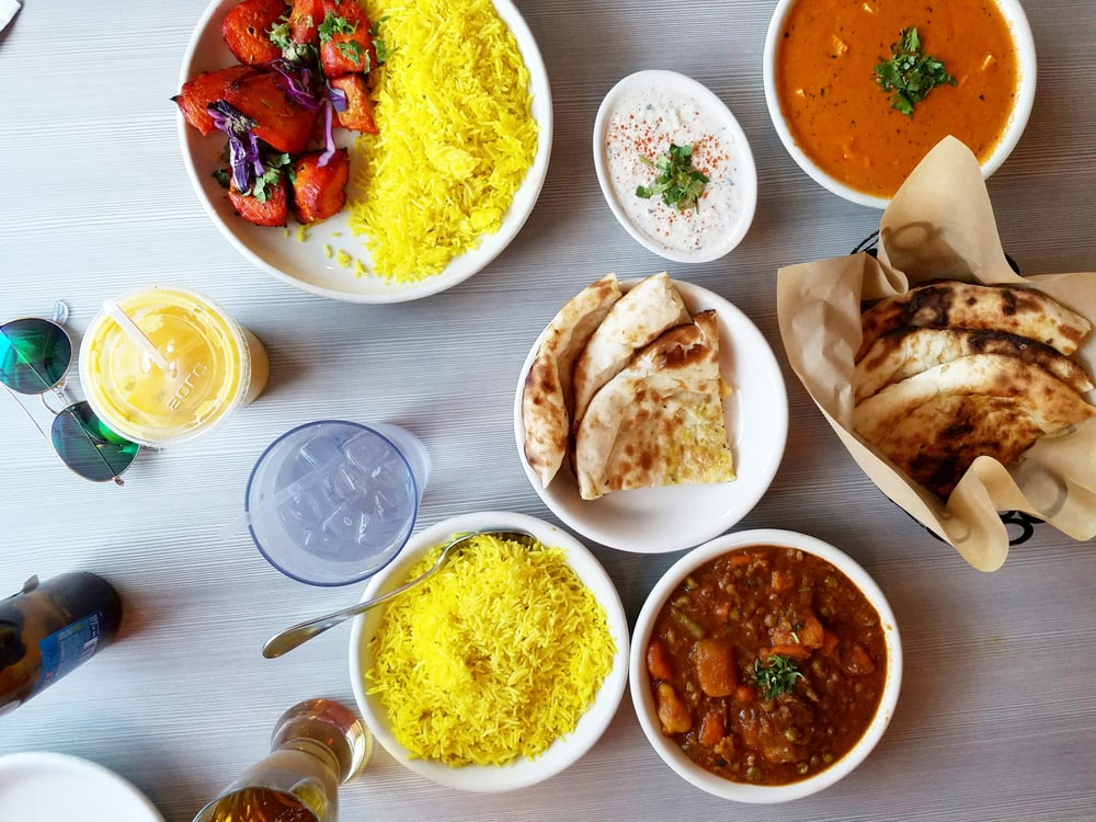 Dallas Uptown Indian Food