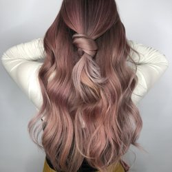 Photo of Xcellent Beauty Salon - Bayside, NY, United States. Rose pink done