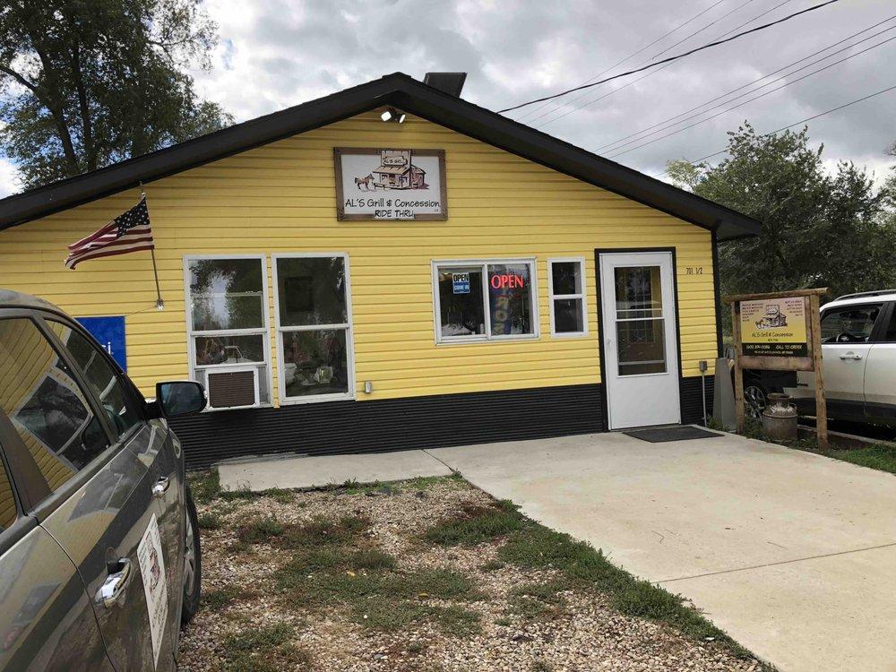 AL'S Grill & Concession: 701 1st Ave E, Lemmon, SD