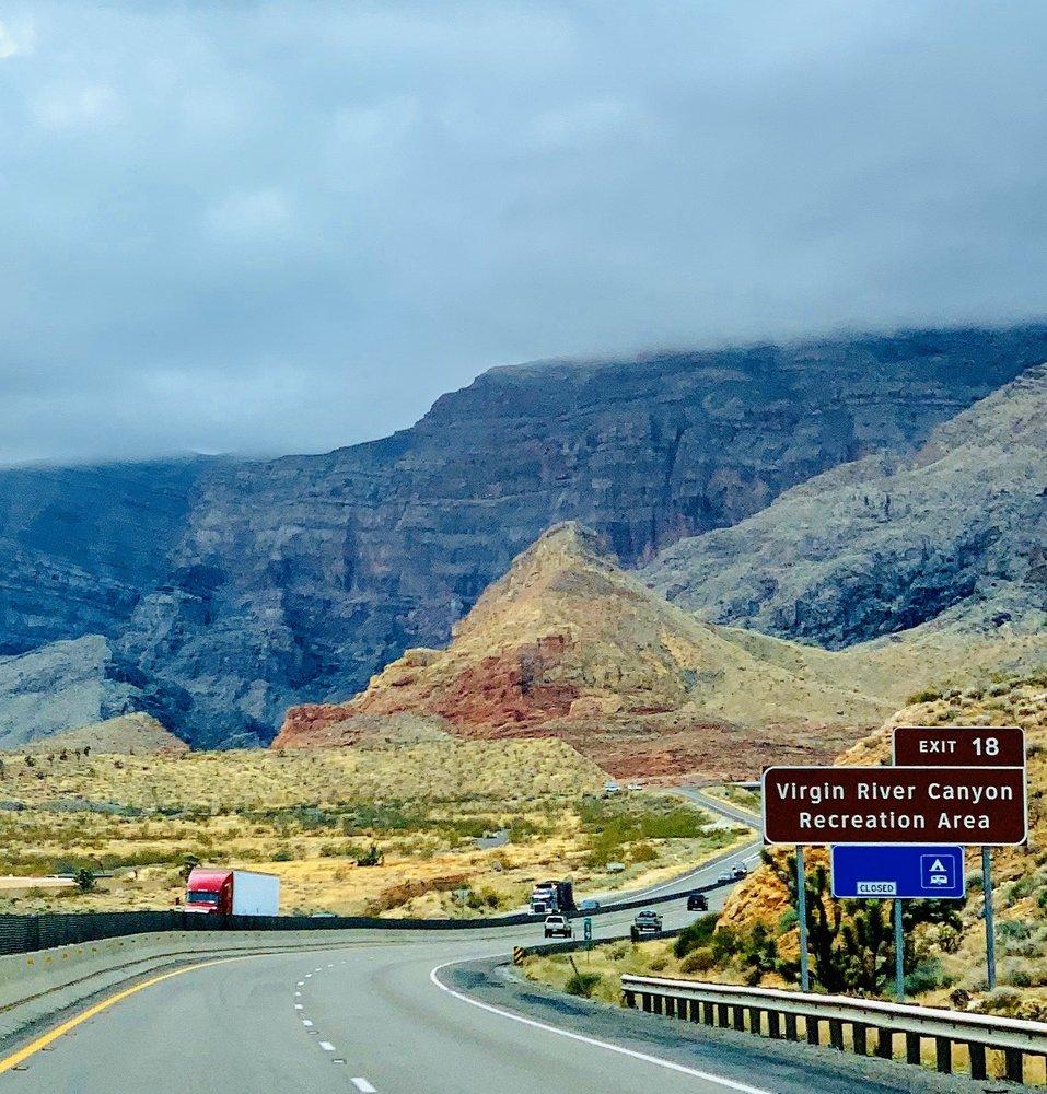 Virgin River Canyon Recreation Area: I-5 N, Littlefield, AZ