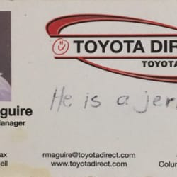 Photo Of Toyota Direct   Columbus, OH, United States. This Guy Is A