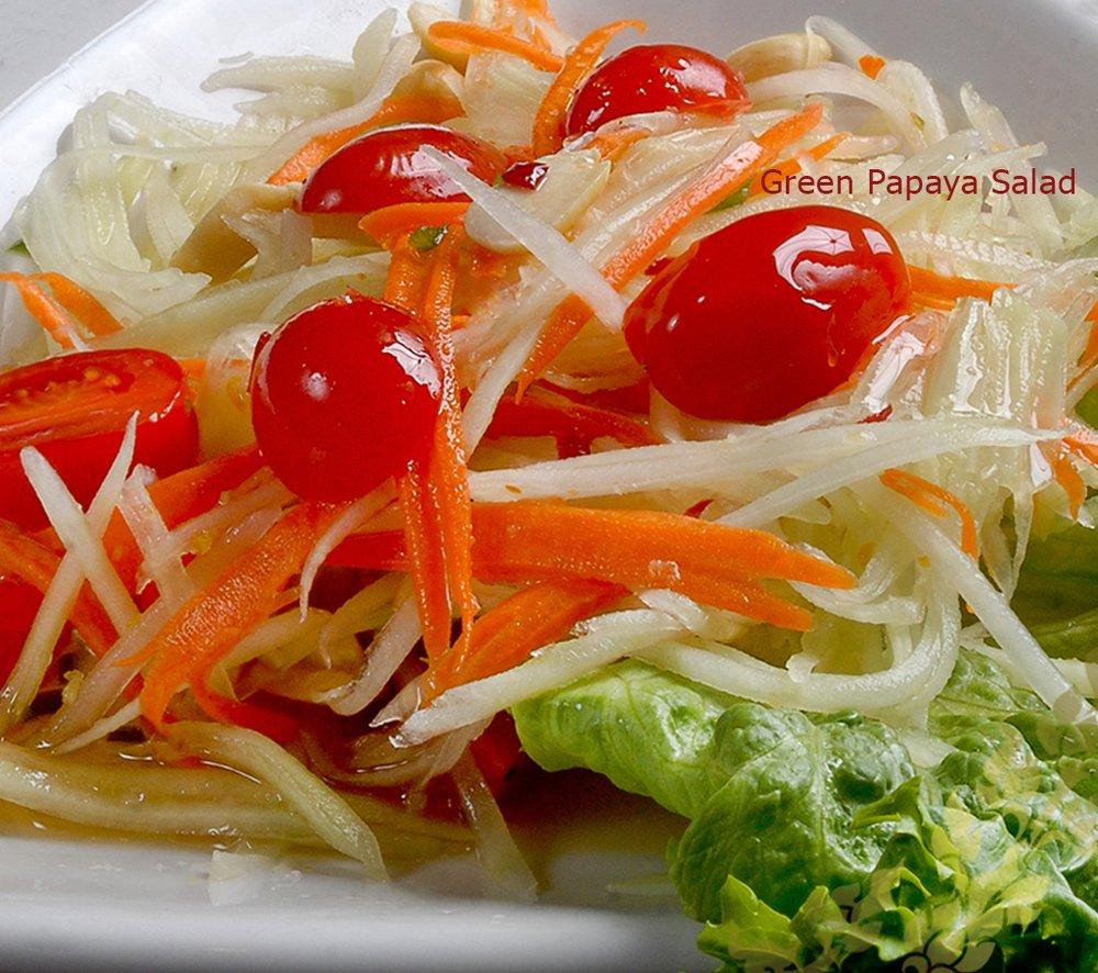 Bann Thai Restaurant Menu