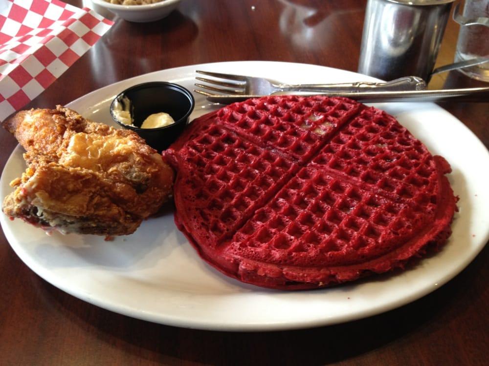 how to make red velvet waffles