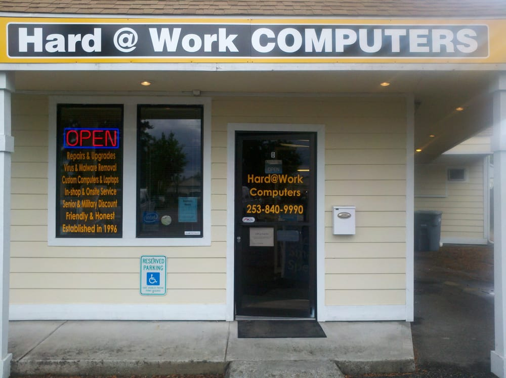 Hard At Work Computers LLC: 1508 E Pioneer Ave, Puyallup, WA