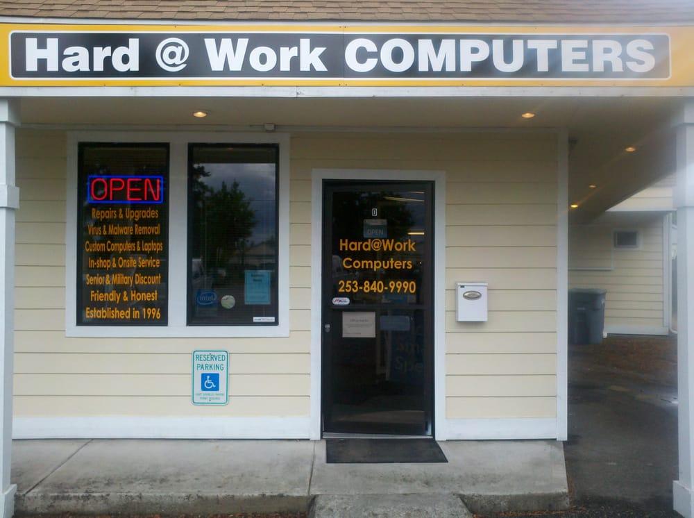 Hard At Work Computers LLC: 1508 E Pioneer Ave, Puyallup, WA