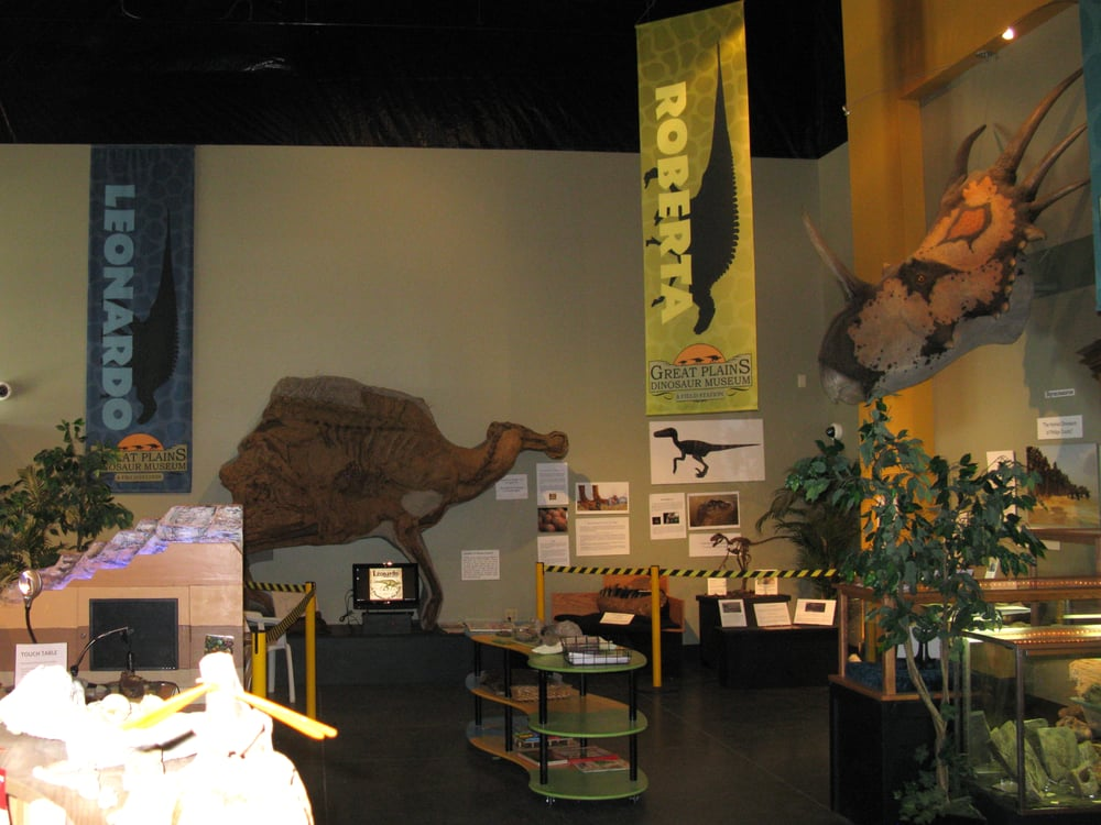 Great Plains Dinosaur Museum: 405 N 1st E, Malta, MT