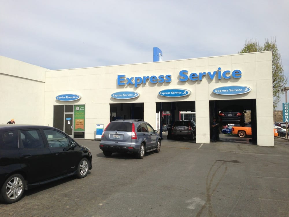 Express service shop yelp for Honda express service