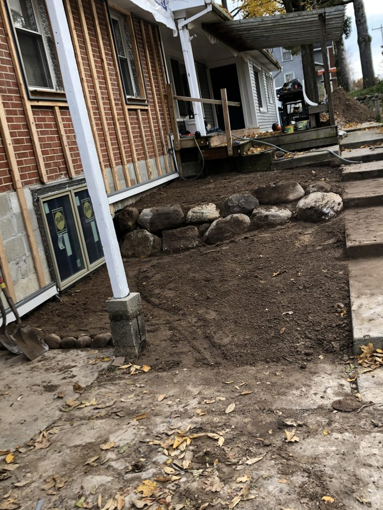 Blockhead Excavation and Landscaping: 7798 Peck Lake Rd, Saranac, MI