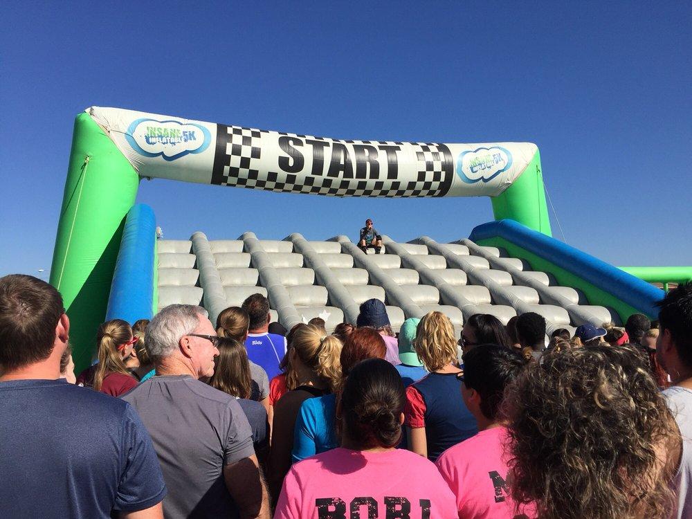 Insane Inflatable 5k: 4603 W Colonial Dr, Orlando, FL
