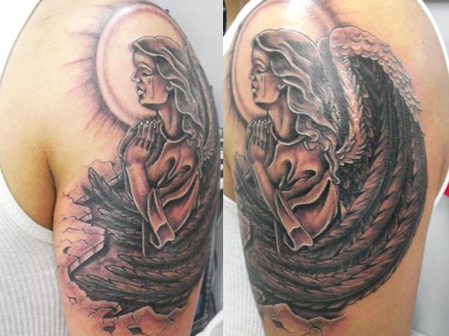 Angel by omar booking now 773 777 9663 yelp for Chicago ink tattoo