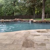 Photo Of Supreme Pools Spas Spring Tx United States Moss Rock