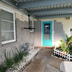 Houston brick stain get quote painters clear lake for Half brick half siding house