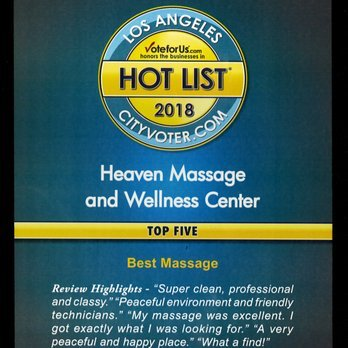 Heaven Massage & Wellness Center