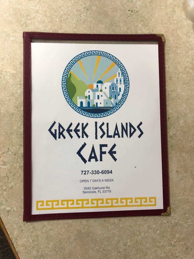 Greek Island Cafe: 9342 Oakhurst Rd, Seminole, FL