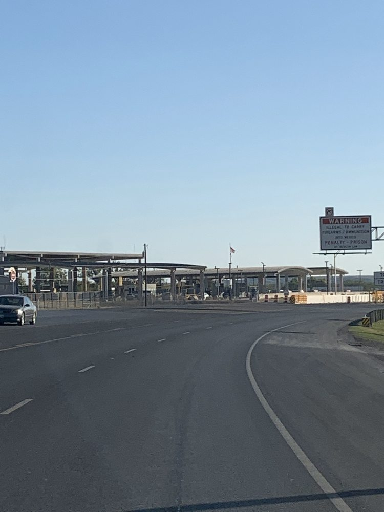 International Toll Bridge: Loop Rd, Del Rio, TX