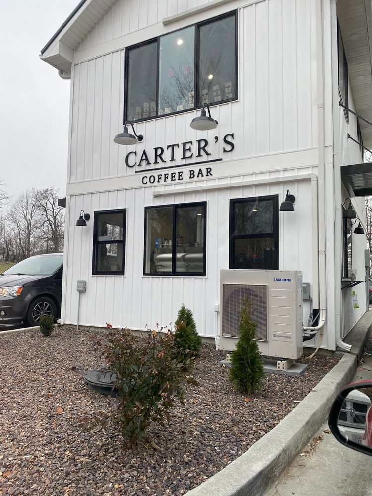 Food from Carter's Coffee Bar