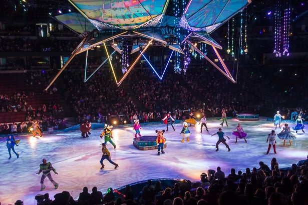 The Disney On Ice production of