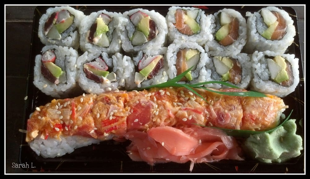 Take Out Kennett Roll Fantasy Roll And Alaska Roll Yelp