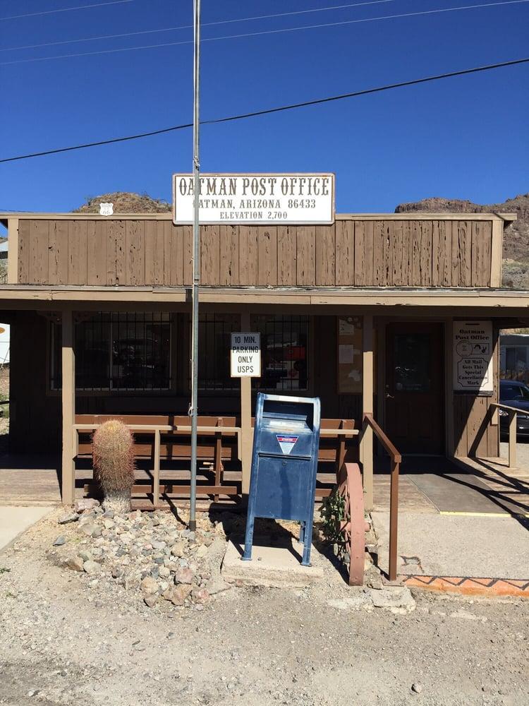 US Post Office: 251 Main St, Oatman, AZ