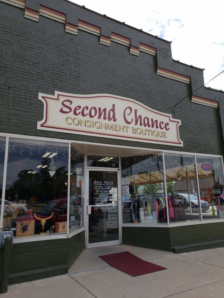 Second Chance Consignment Boutique: 100 E Logan St, tecumseh, MI