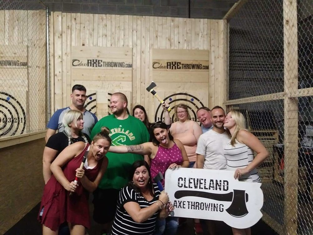 Class Axe Throwing: 9000 Bank St, Valley View, OH