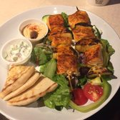 Zoes Kitchen Salmon Kabob zoes kitchen - 100 photos & 120 reviews - mediterranean - 2935