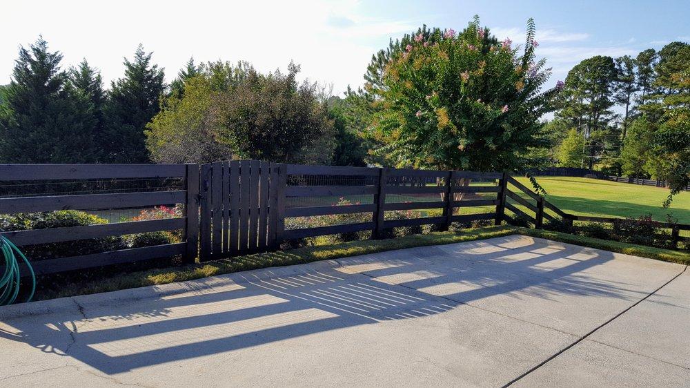 County Line Fence company: 10 Brown Loop Spur, Cartersville, GA