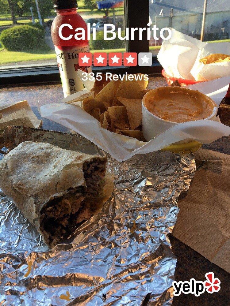 Cali Burrito: 2149 Reading Rd, Allentown, PA