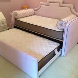 Photo Of Design Upholstery   Charlotte, NC, United States. Custom Bed With  Trundle