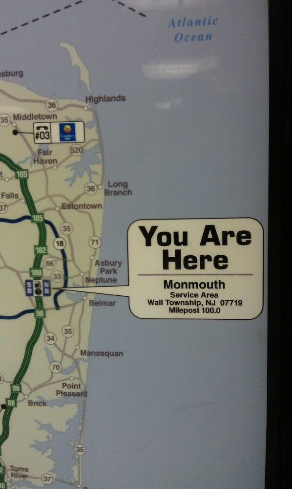 Monmouth service area gas stations garden state pkwy - Garden state parkway gas stations ...