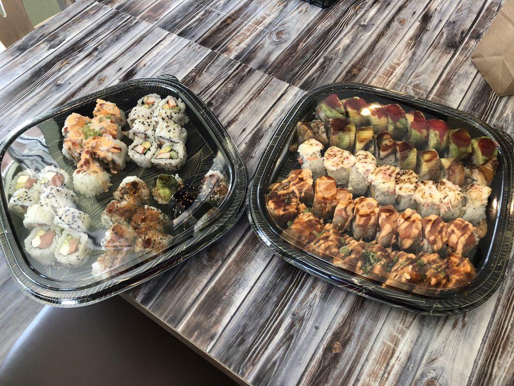 Food from Samoeun's Happy Wok