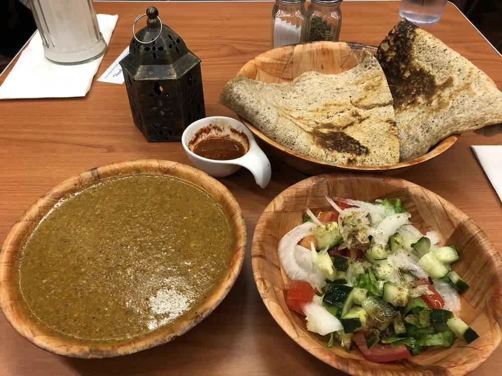 Photo of Z Zoul Cafe - San Francisco, CA, United States. Sudanese Tagalia
