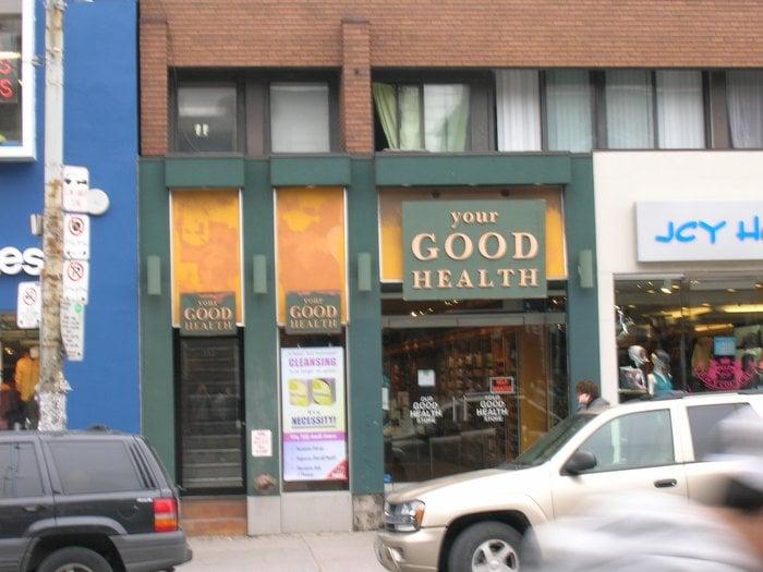 Health Food Stores Toronto Queen Street West
