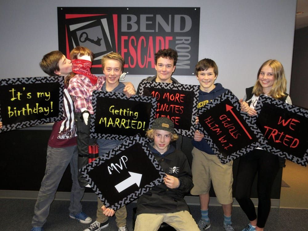 Bend Escape Room: 358 NE Marshall Ave, Bend, OR