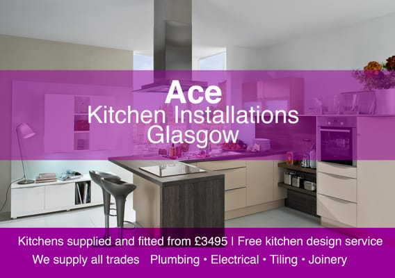 Attrayant Photo Of Ace Kitchen Fitters Glasgow   Glasgow, United Kingdom. Kitchens  Supplied And Fitted