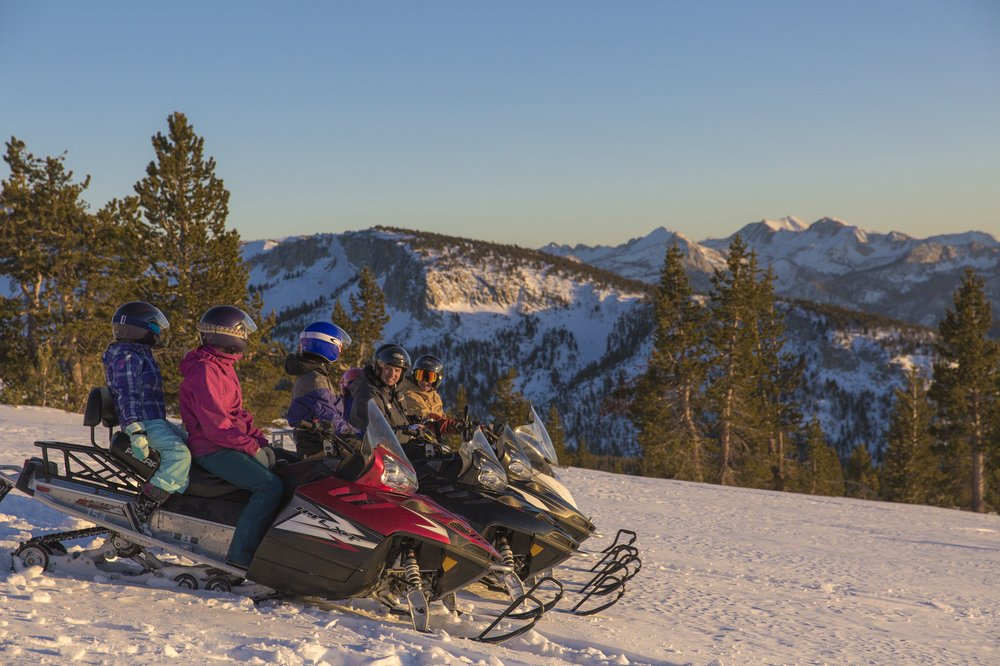 Snowmobile Adventures: 10001 Minaret Rd, Mammoth Lakes, CA