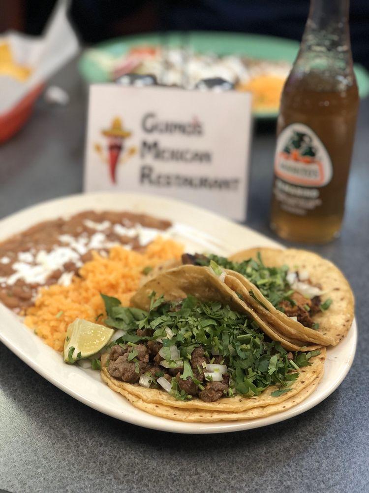 Guimo's Mexican Restaurant: 126 N Bristol St, Sun Prairie, WI