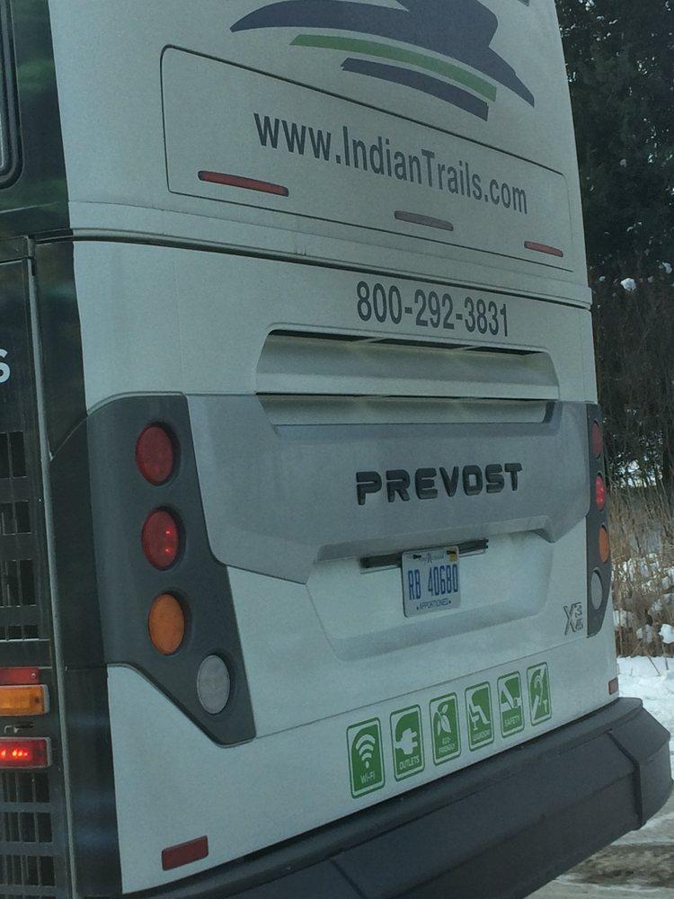 Indian Trails Bus: 109 E Comstock St, Owosso, MI
