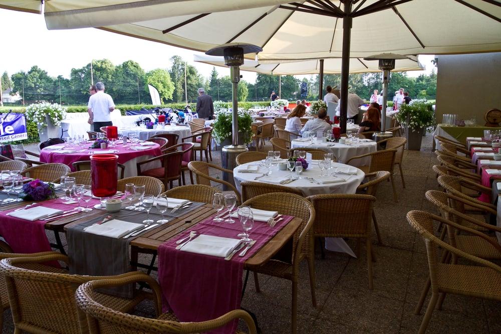 Domaine de la grange aux ormes restaurant french rue - Restaurant la grange aux ormes marly ...