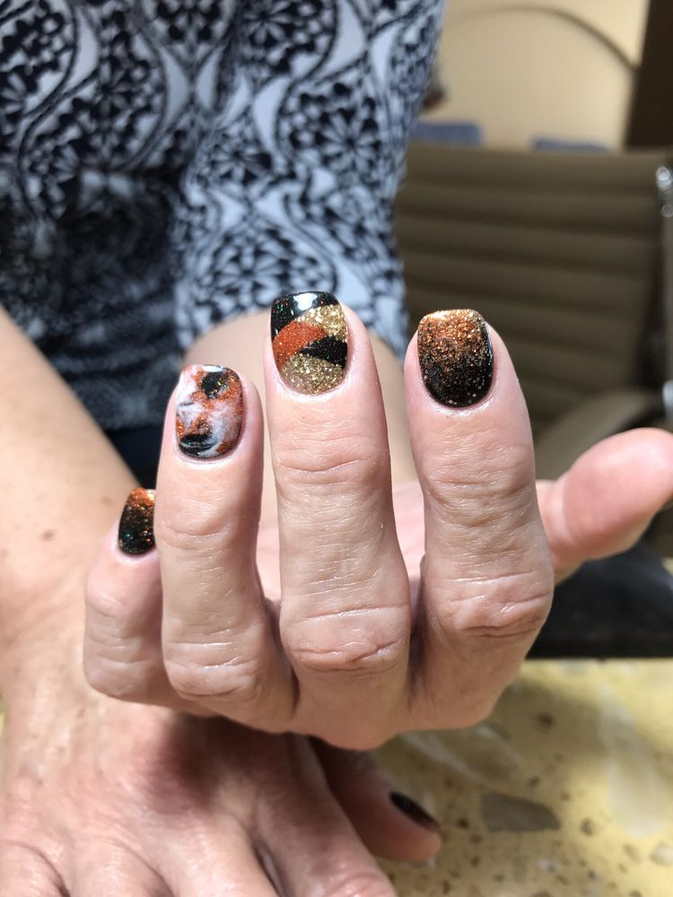 Kim is absolutely the best!!! Unique sns nail designs. - Yelp