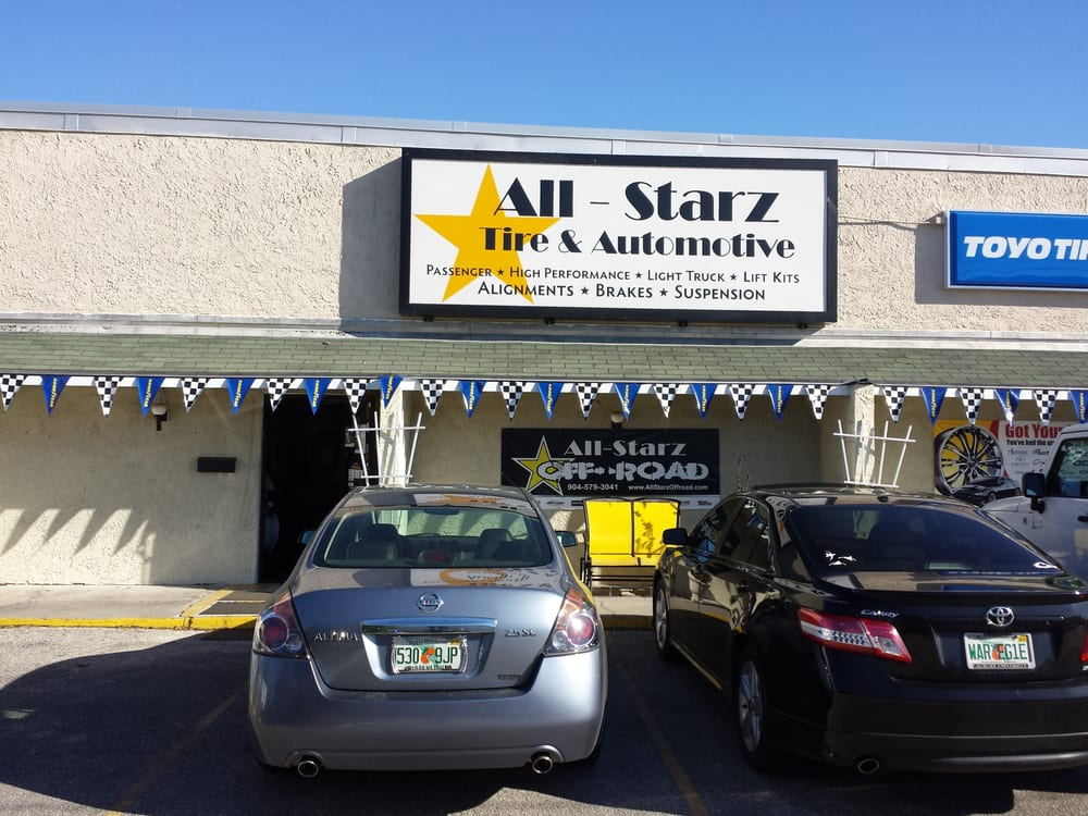 Tire Repair Shops Near Me >> All-Starz Tire & Automotive - Auto Repair - 238 Blanding Blvd, Westside, Orange Park, FL - Phone ...