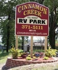 Cinnamon Creek RV Park: 12996 Hwy 371, Minden, LA