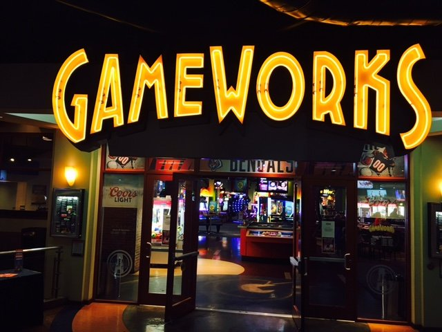 GameWorks: 1 Levee Way, Newport, KY