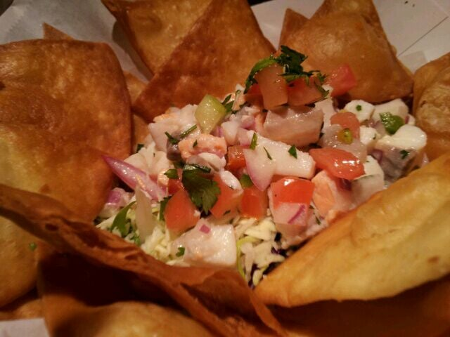 Ceviche nachos yelp for Spikes fish house