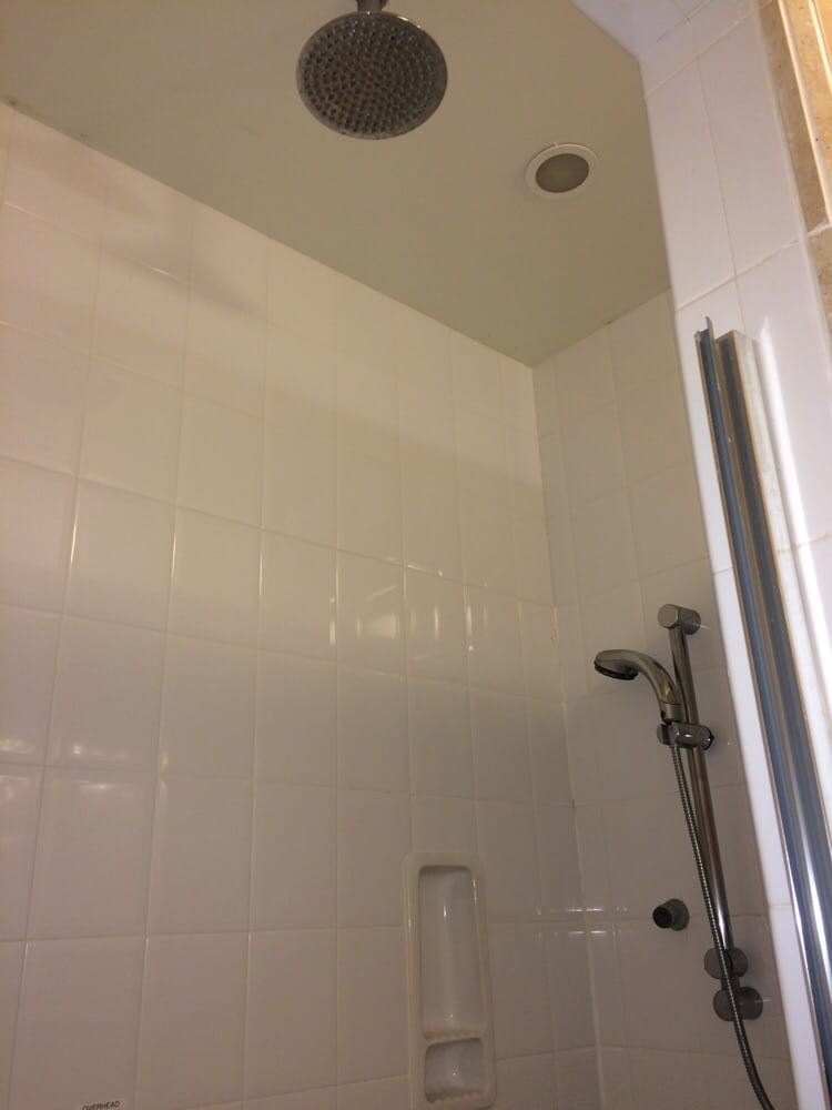 Overhead shower and wall jets at Miulana - Yelp