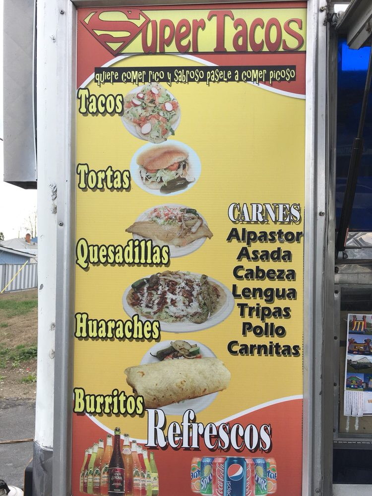 Super Tacos: 100 W Lincoln Ave, Sunnyside, WA