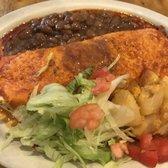 Photo Of El Patio De Albuquerque   Albuquerque, NM, United States. Adovada  Burrito